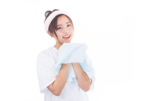 正しい洗顔の仕方、手順
